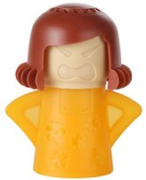 Home-X Steam'n Mama Microwave Cleaner. Orange Body and Brown Hair
