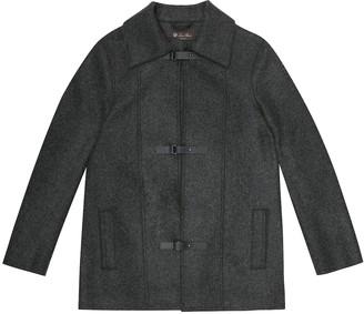 Loro Piana Kids Colten cashmere coat
