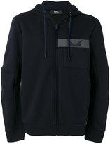 Fendi zip-up hoodie - men - Cotton/Polyester - 44