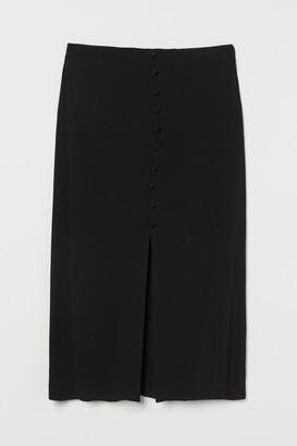 H&M Slit-front skirt