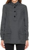 Max Studio Heart Jacquard Long Sleeved Tunic