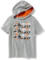 Old Navy Graphic Tee Hoodie for Boys