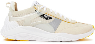 McQ Gishiki Pro Suede-trimmed Mesh Sneakers