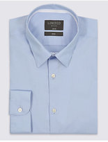 Limited Edition Cotton Rich Easy to Iron Slim Fit Shirt