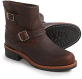 """Chippewa Engineer Plain Toe Boots - Factory 2nds, Leather, 7"""" (For Men)"""