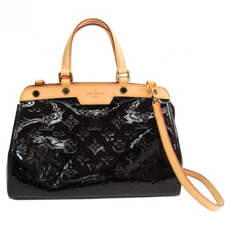 Louis Vuitton Brea Burgundy Patent leather Handbags