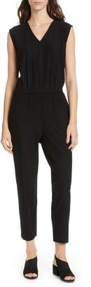 Eileen Fisher Sleeveless Ankle Crop Jumpsuit