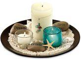 Estrella Garden 10-piece Candle & Tray Set