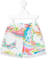 Roberto Cavalli printed casual shorts