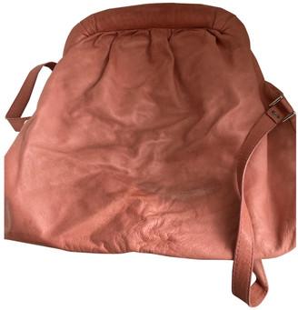 Nicole Farhi Pink Leather Handbags