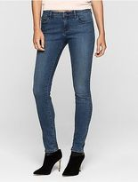 Calvin Klein Womens Skinny Mid Blue Vintage Jeans