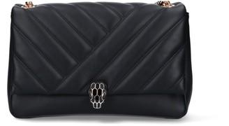 Bulgari Serpenti Cabochon Shoulder Bag