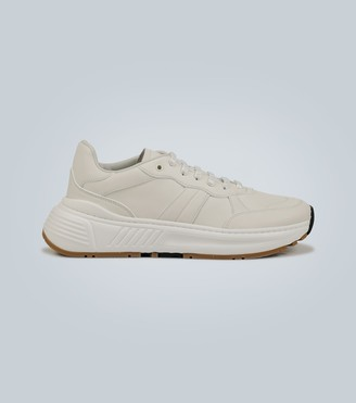 Bottega Veneta Speedster paneled leather sneakers