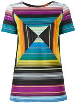 Missoni optical effect knit top
