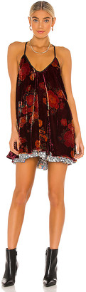 Free People Two Faced Mini Dress