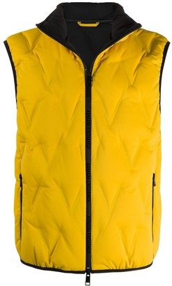 Armani Exchange Hooded Quilted Down Gilet