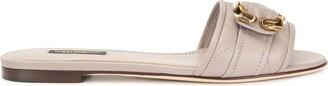 Dolce & Gabbana Flat Embellished Slides