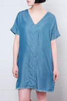 Only Raw Hem Denim Dress