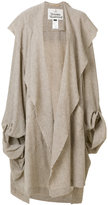 Vivienne Westwood oversized knitted cape coat