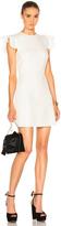 Giambattista Valli Ruffle Sleeve Mini Dress