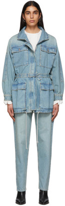 Etoile Isabel Marant Blue Denim Guila Dress
