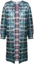Natasha Zinko jacquard padded maxi robe