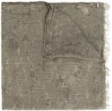 Woolrich tassel detail scarf