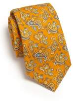Isaia Cotton Paisley Tie