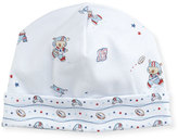 Kissy Kissy First Down Print Pima Baby Hat