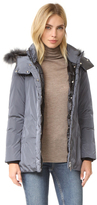 ADD Down Jacket with Fur