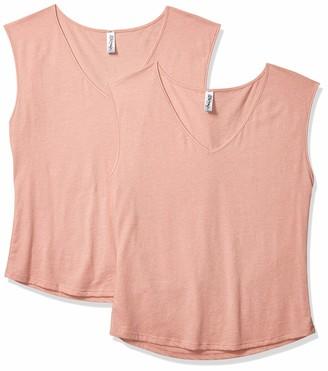 Festival Sleeveless V Neck T Shirt   2 Pack Marky G Women's T-Shirt
