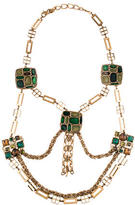 Oscar de la Renta Multi-Strand Crystal Necklace