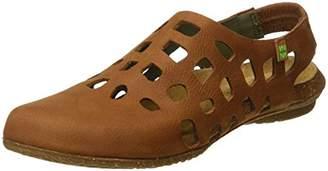 El Naturalista S.A N5060 Pleasant Wakataua, Women's Closed toe sandals, Yellow (Curry), (37 EU)