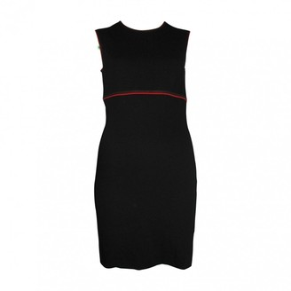Escada Black Wool Dress for Women Vintage