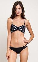 RVCA Women's Abstraction Bralette Bikini Top