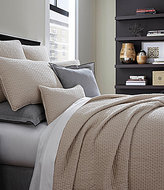 Moderne by Noble Excellence Genesis Stonewashed Cotton Matelasse Coverlet
