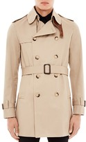 Sandro Magnetic Short Trench Coat