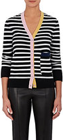 Lisa Perry Women's Striped Cashmere Cardigan