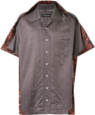 Y/Project Paisley Trim Bowling Shirt