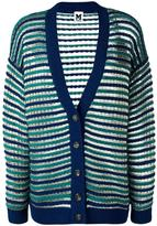 M Missoni round neck cropped cardigan