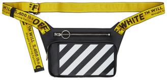 Off-White Black Diag Cross-Body Bag