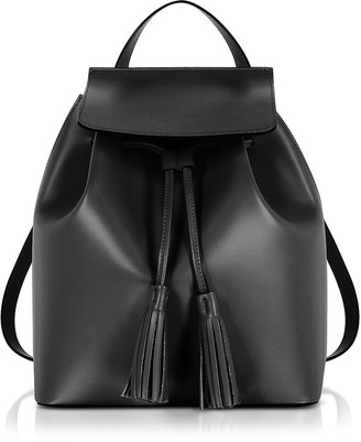 Gisèle 39 Genuine Leather Backpack w/Tassels