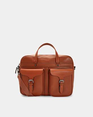Ted Baker FORSEE Fashion leather document bag