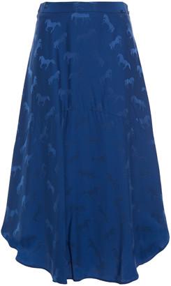 Stella McCartney Satin-jacquard Skirt