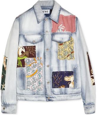 Loewe + Paula's Ibiza Patchwork Denim Jacket