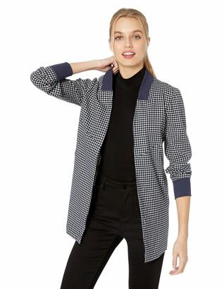 BCBGeneration Women's Seamed Woven Boyfriend Jacket