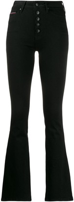 Tommy Hilfiger High Waisted Flared Jeans