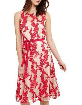 Phase Eight Adele Embroidered Dress