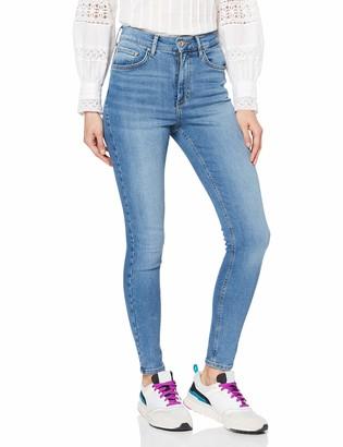 Pieces Women's Pcnora Skn Hw ANK Lb134-ba/noos Skinny Jeans