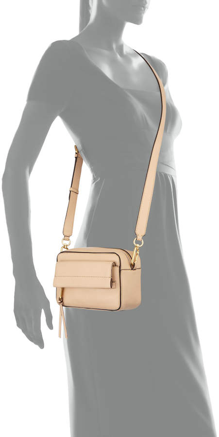 Cole Haan Kathlyn Leather Camera Crossbody Bag, Nude